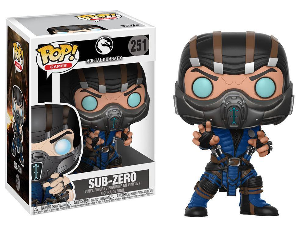 MORTAL KOMBAT - Bobble Head POP N° 251 - Sub Zero