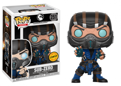 MORTAL KOMBAT - Bobble Head POP N° 251 - Sub Zero CHASE