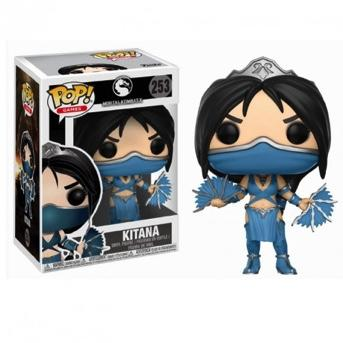 MORTAL KOMBAT - Bobble Head POP N° 253 - Kitana_1