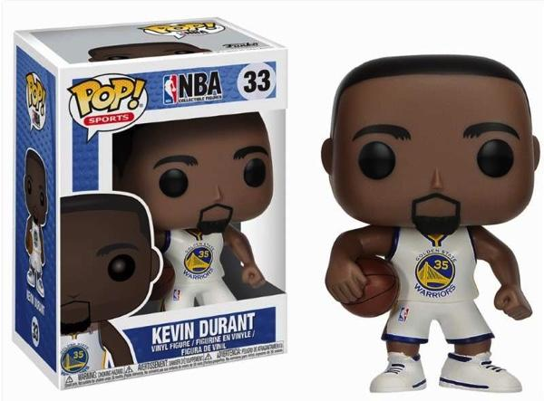 NBA - Warriors - Bobble Head POP N° 33 - Kevin Durant
