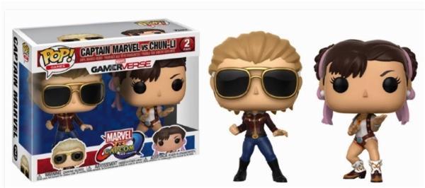 MARVEL Vs CAPCOM - 2-Pack - Captain Marvel Vs Chun-Li