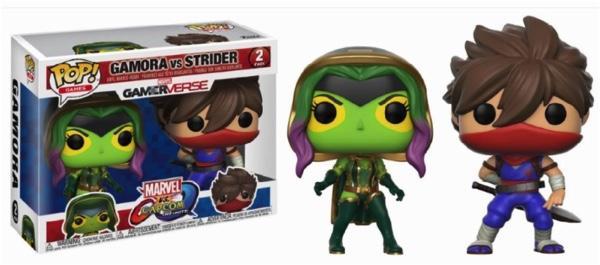 MARVEL Vs CAPCOM - 2-Pack - Gamora Vs Strider
