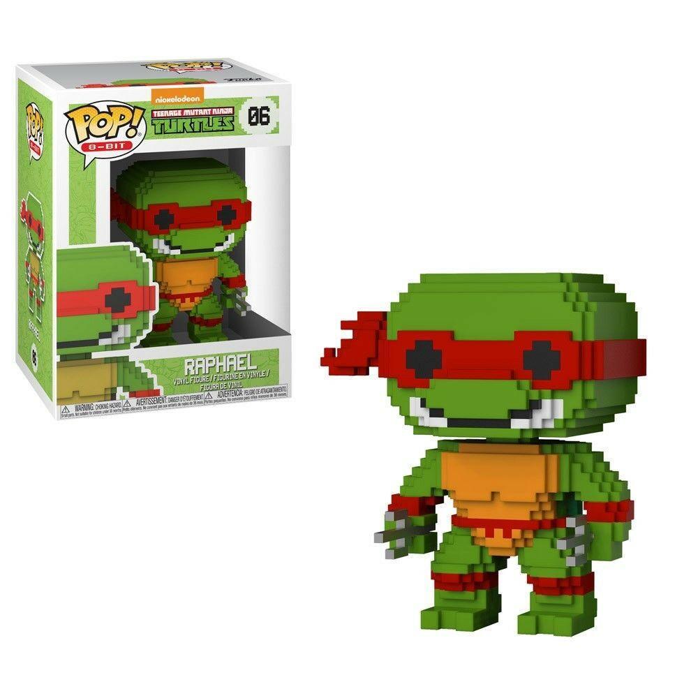 TMNT - POP 8-Bit N° 006 - Raphael