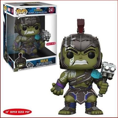 THOR RAGNAROK - Bobble Head POP N° 241 - Gladiator Hulk 25cm