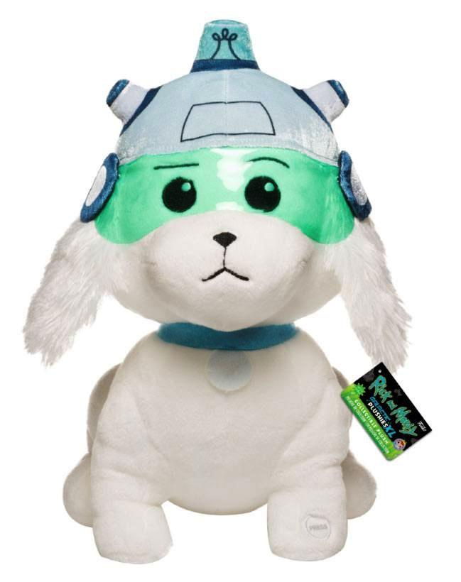 RICK & MORTY - Peluche Sonore - Snowball - 30cm