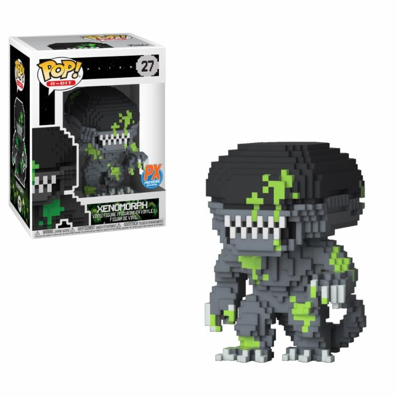 MOVIE - Bobble Head POP N° 27 - Blood Splatter 8 Bit Alien LIMITED
