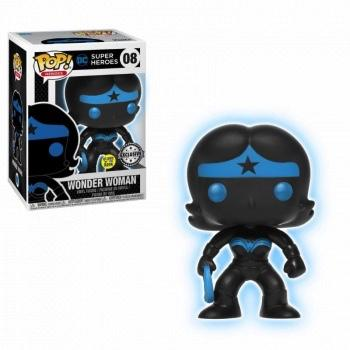 JUSTICE LEAGUE - Bobble Head POP N° 08 - Wonder Woman GITD LIMITED