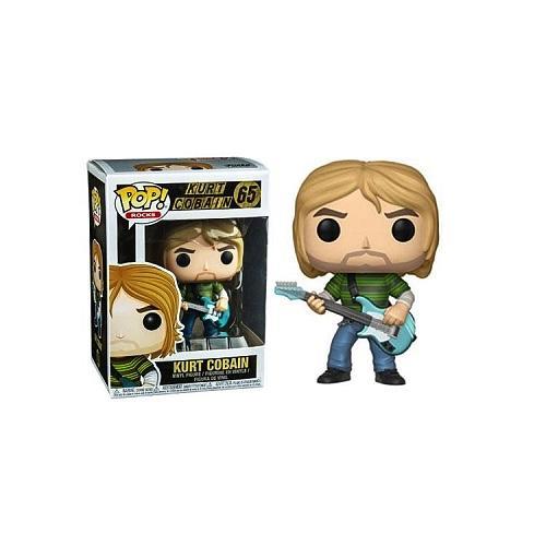 ROCKS - Bobble Head POP N° 65 - Kurt Cobain