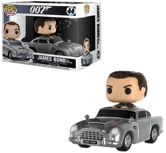 JAMES BOND - Bobble Head POP RIDES N° 44 - Sean Connery Aston Martin
