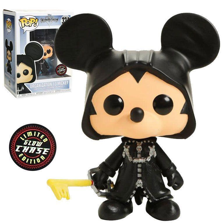 KINGDOM HEARTS - Bobble Head POP N° 334 - Organization 13 Mickey CHASE