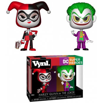 DC COMICS - Funko VYNL 2-Pack - Harley Quinn & Joker