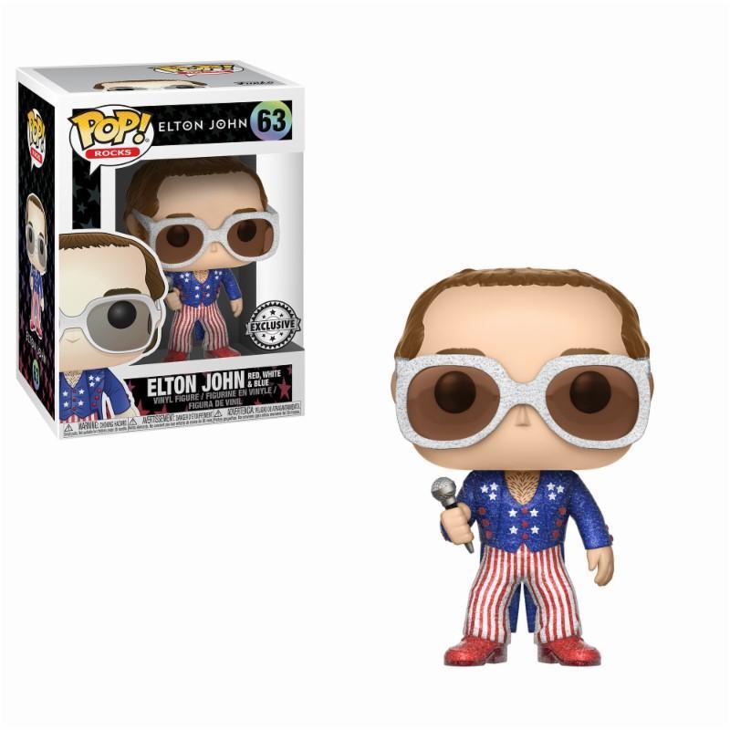 POP ROCKS - Bobble Head POP N° 63 - Elton John Glitter Exclusive Edit._1