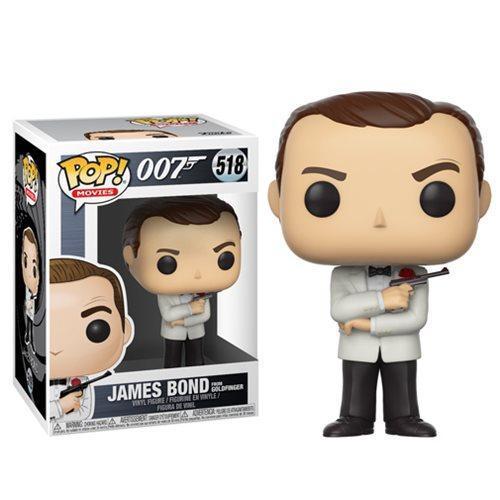 JAMES BOND - Bobble Head POP N° 518 - Sean Connery