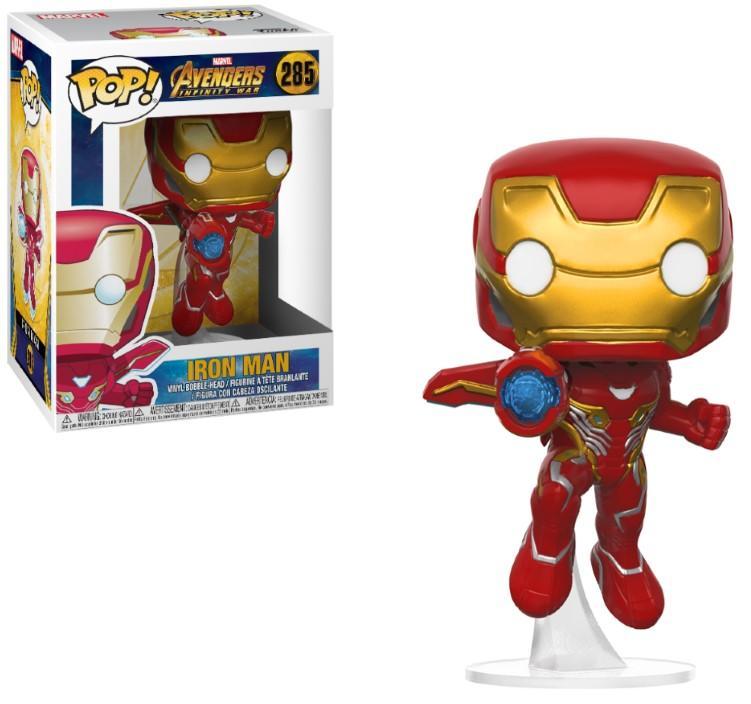 AVENGERS INFINITY WAR - Bobble Head POP N° 285 - Iron Man