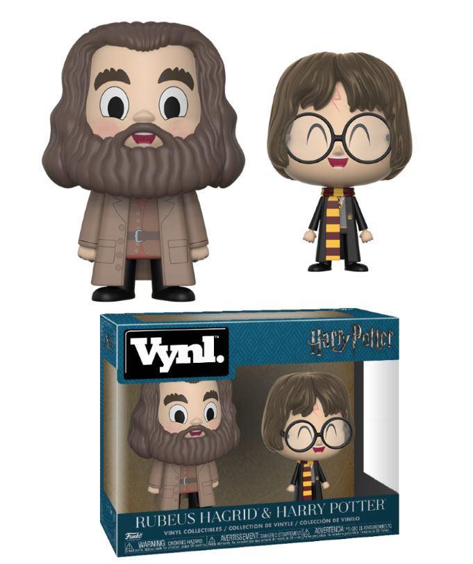 HARRY POTTER - Funko VYNL 2-Pack - Harry & Hagrid