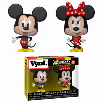 DISNEY - Funko VYNL 2-Pack - Mickey & Minnie