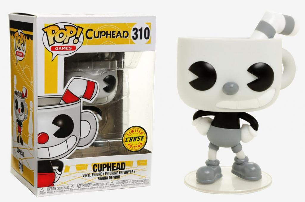CUPHEAD - Bobble Head POP N° 310 - Cuphead CHASE EDITION