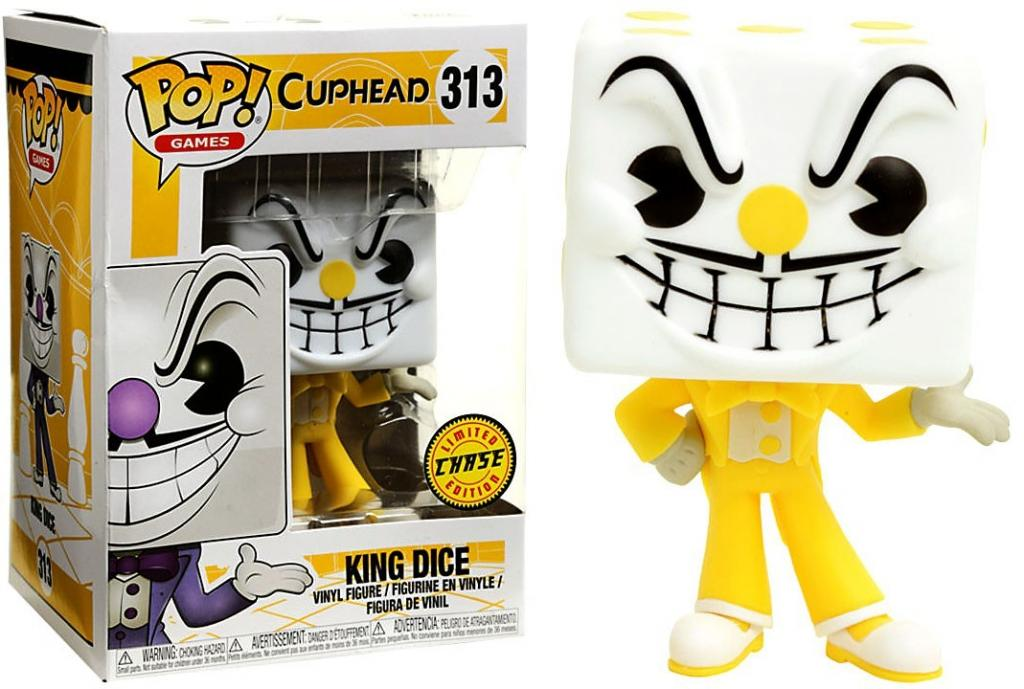 CUPHEAD - Bobble Head POP N° 313 - King Dice CHASE EDITION