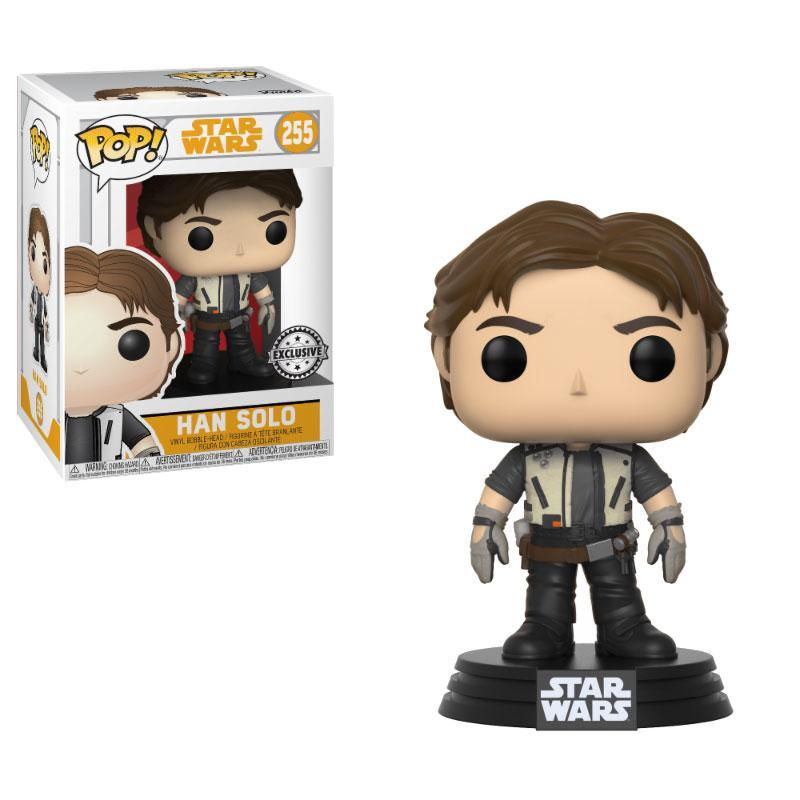 STAR WARS - Bobble Head POP N° 255 - Solo - Young Han - Limited - 10cm