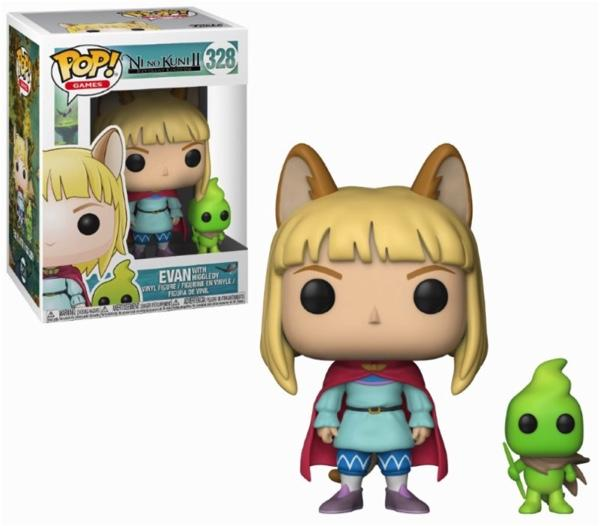 NI NO KUNI - Bobble Head POP N° 328 - Evan with Higgledy