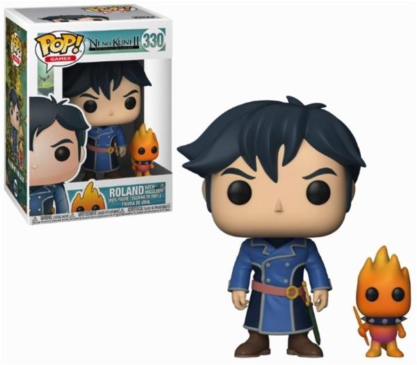 NI NO KUNI - Bobble Head POP N° 330 - Roland with Higgledy