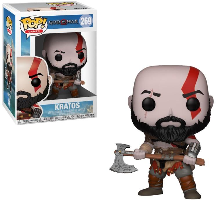 GOD OF WAR - Bobble Head POP N° 269  - Kratos
