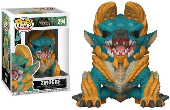 MONSTER HUNTER - Bobble Head POP N° 294 - Zinogre