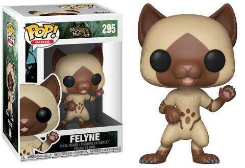 MONSTER HUNTER - Bobble Head POP N° 295 - Felyne