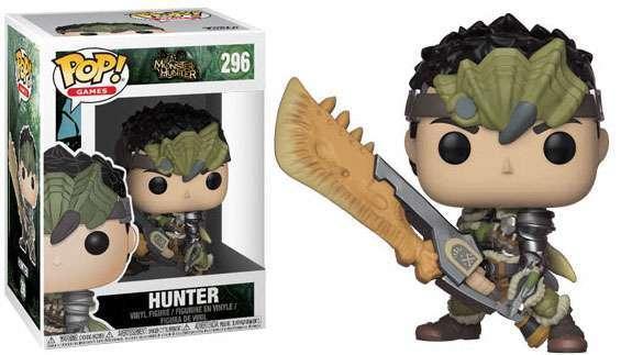 MONSTER HUNTER - Bobble Head POP N° 296 - Hunter