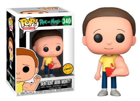 RICK & MORTY - Bobble Head POP N° 340 - Sentinent Arm Morty CHASE