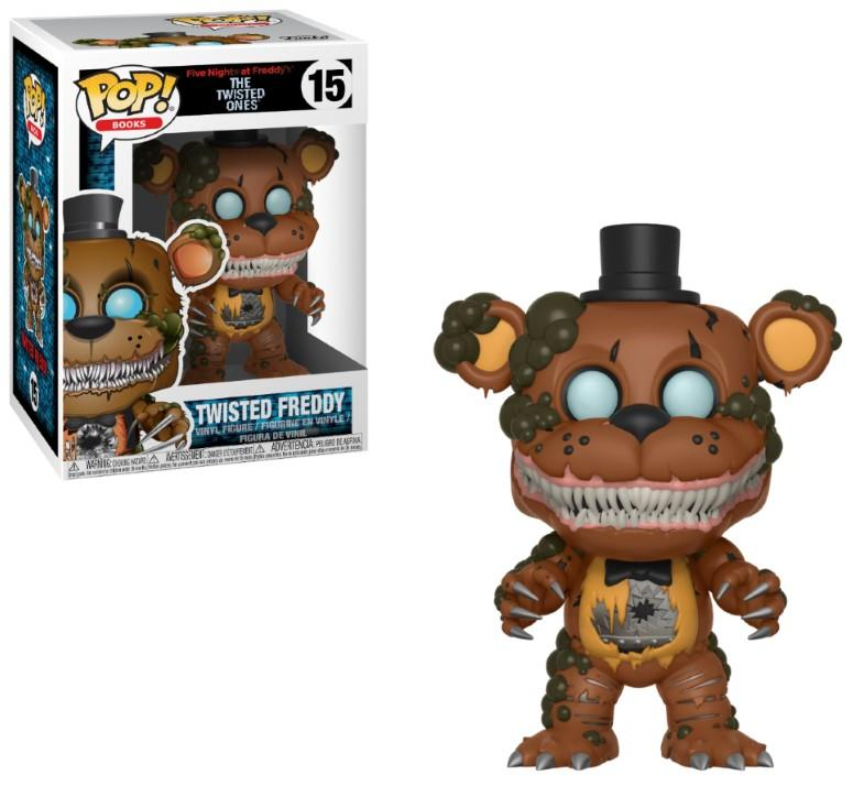 FIVE NIGHTS AT FREDDY'S - Bobble Head POP N° 15 - Twisted Freddy