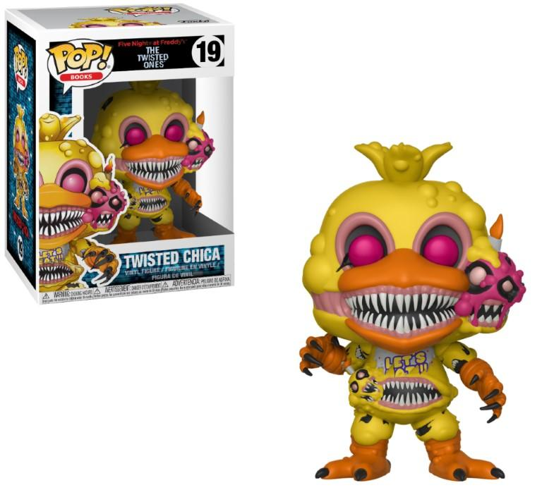 FIVE NIGHTS AT FREDDY'S - Bobble Head POP N° 19 - Twisted Chica