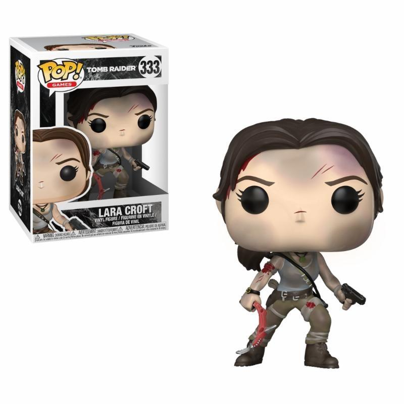 TOMB RAIDER - Bobble Head POP N° 333 - Lara Croft