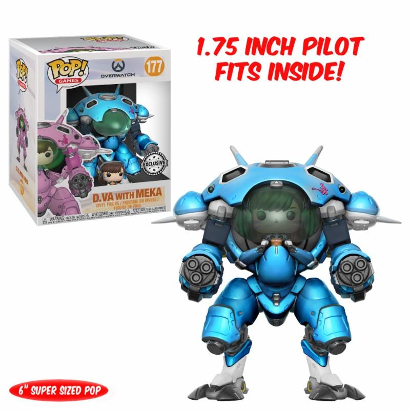 OVERWATCH - Bobble Head N° 177 - Blueberry D.VA OVERSIZE LIMITED