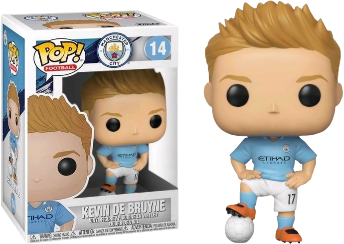 FOOTBALL - Bobble Head POP N° 14 - Kevin de Bruyne