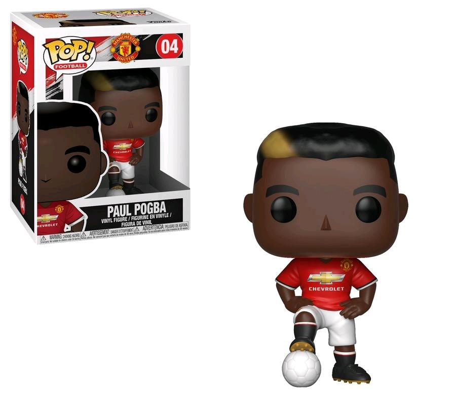 FOOTBALL - Bobble Head POP N° 04 - Paul Pogba 'Manchester United'
