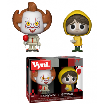 IT - Funko VYNL 2-Pack - Pennywise & Georgie