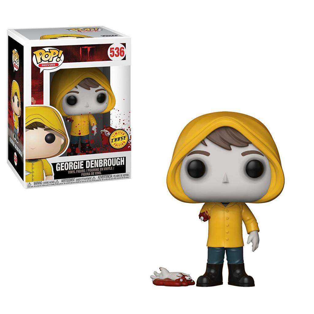 IT - Bobble Head POP N° 536 - Georgie with Boat CHASE EDITION