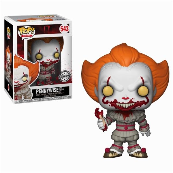 IT - Bobble Head POP N° 543 - Pennywise with Severed Arm LIMITED_1
