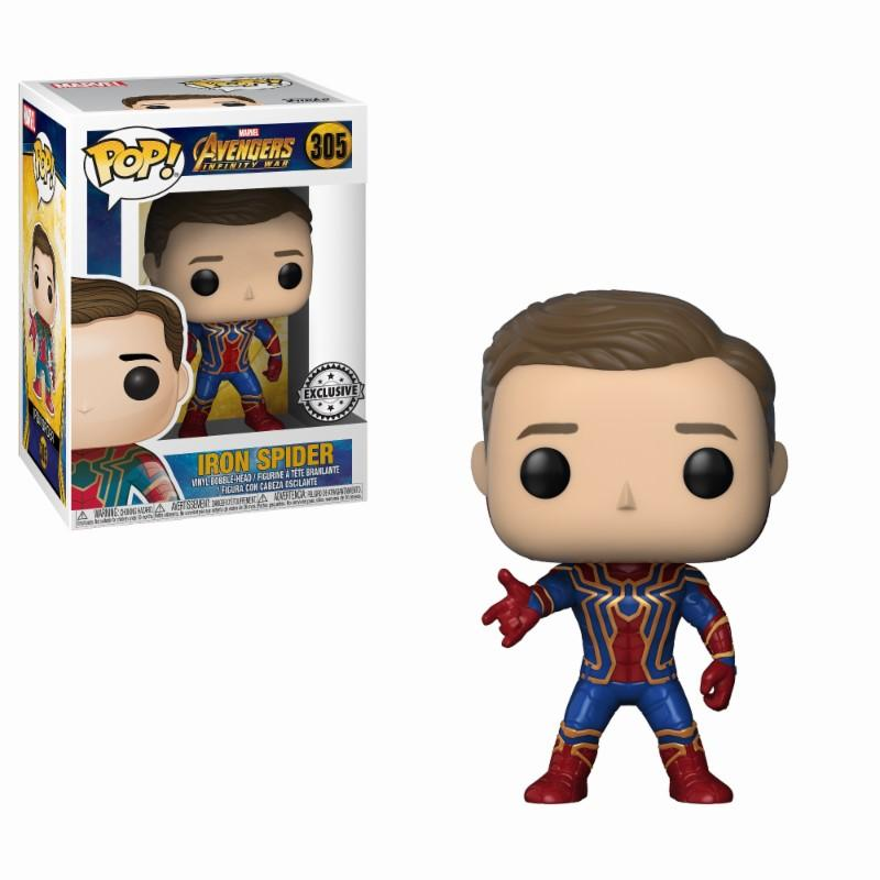 AVENGERS - Bobble Head POP N° 305 - Iron Spider LIMITED