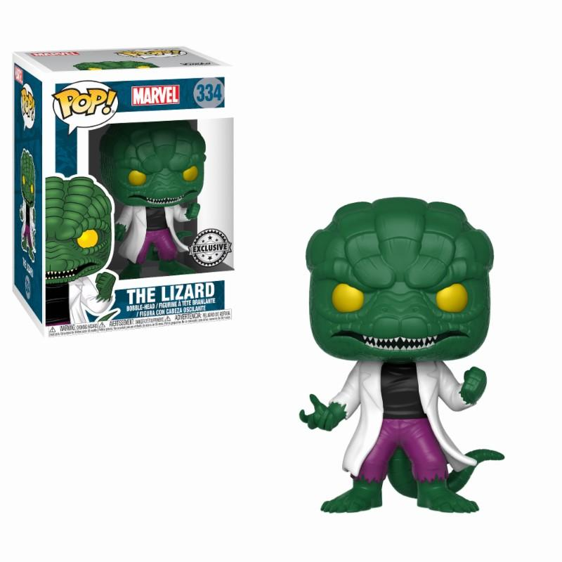 MARVEL COMICS - Bobble Head POP N° 334 - The Lizard LIMITED_1