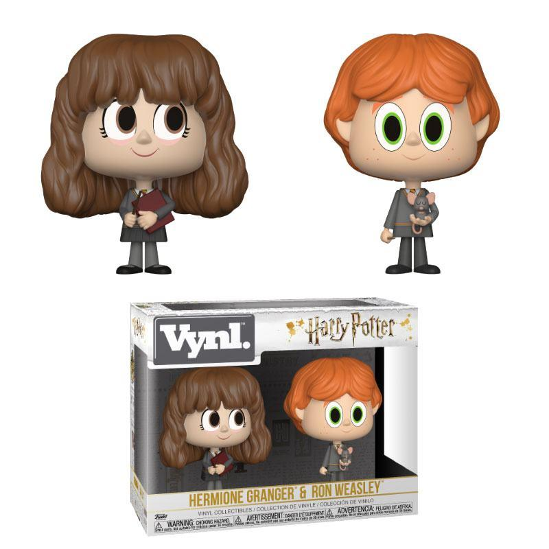 HARRY POTTER - Funko VYNL 2-Pack - Ron & Hermione Vers 2