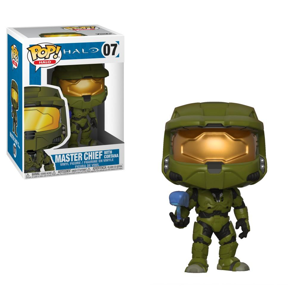 HALO - Bobble Head POP N° 07 - Master Chief with Cortana