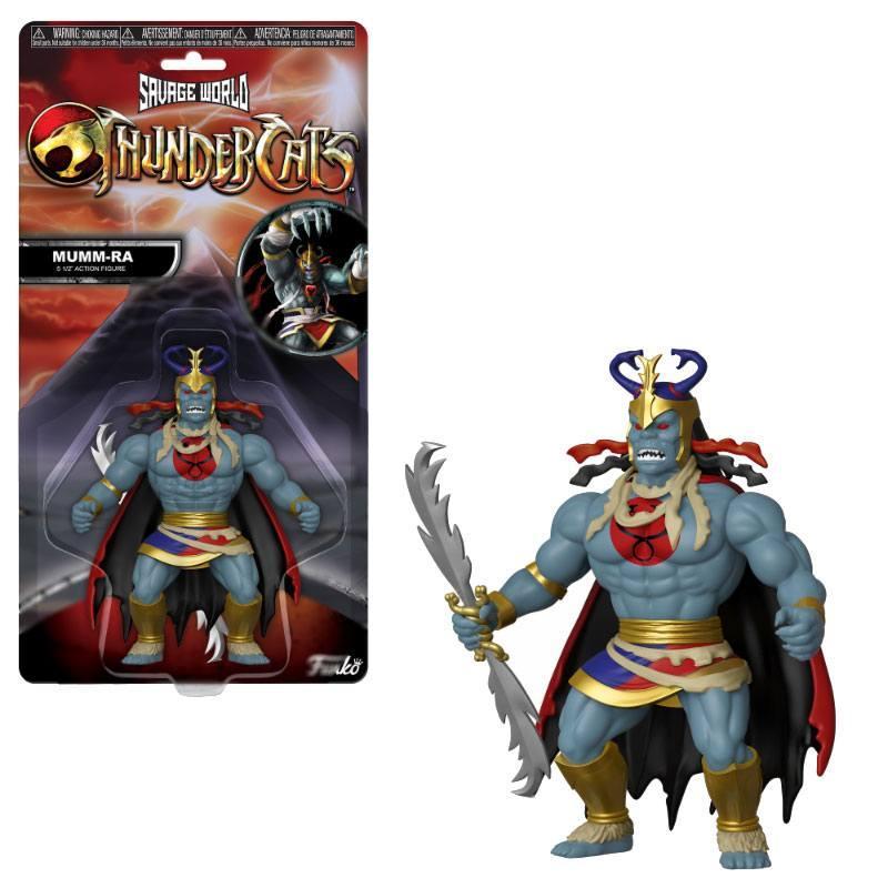 COSMOCATS - Savage World - Figurine Articulée - Mumm-Ra - 10cm