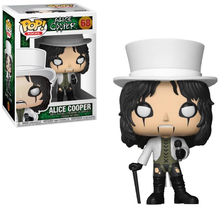 MUSIC - Bobble Head POP N° 68 - Alice Cooper