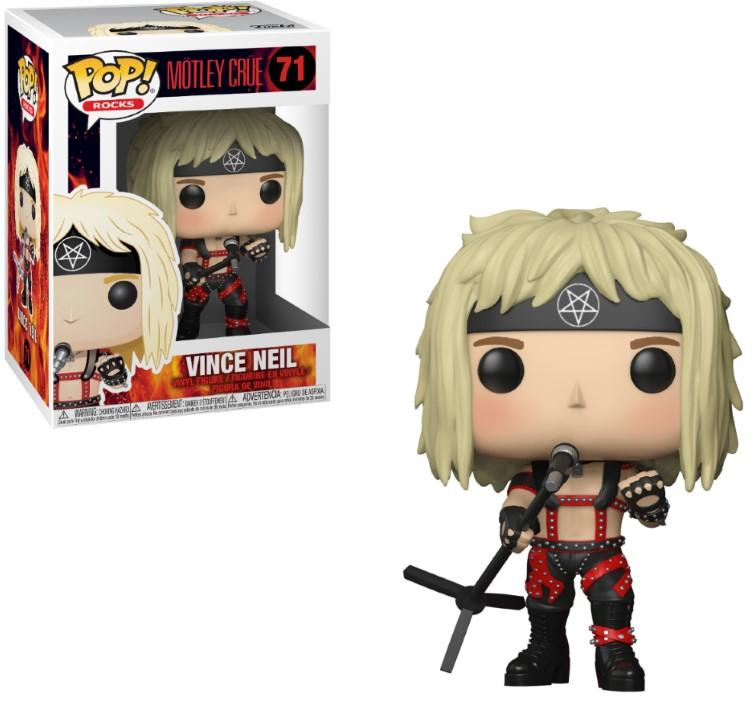 MUSIC - Bobble Head POP N° 71 - Motley Crue - Vince Neil