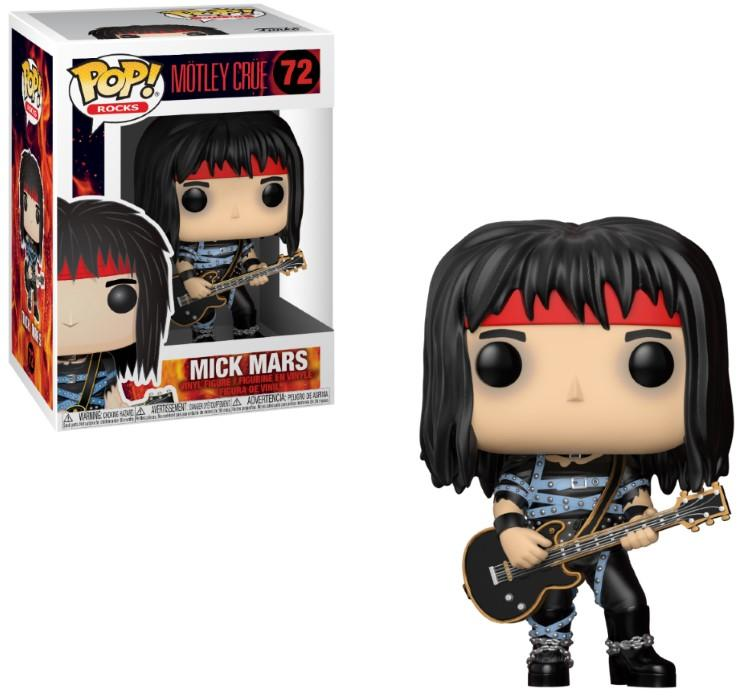 MUSIC - Bobble Head POP N° 71 - Motley Crue - Mick Mars_1