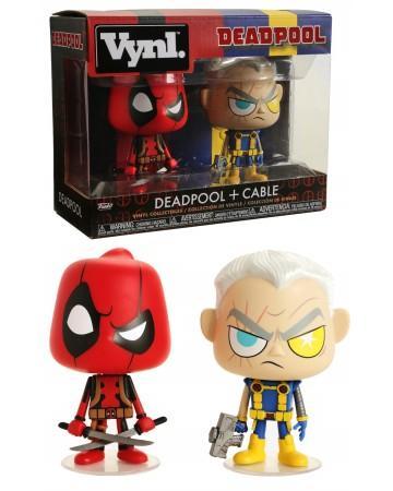 MARVEL - Funko VYNL 2-Pack - Deadpool & Cable