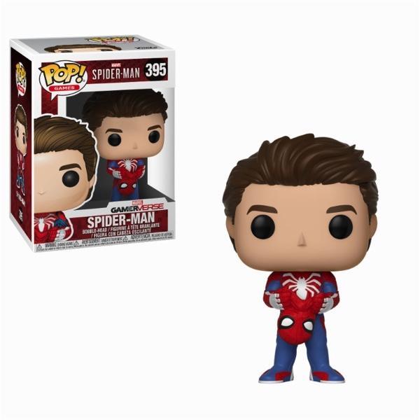 SPIDERMAN GAME - Bobble Head POP N° 395 - Unmasked Spider-Man