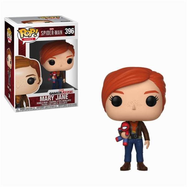 SPIDERMAN GAME - Bobble Head POP N° 396 - Mary Jane with Plush